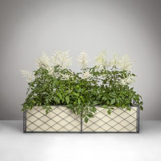 Wirework Window Box with Planter