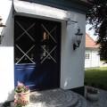 180cm wide door canopy zinc galvanized