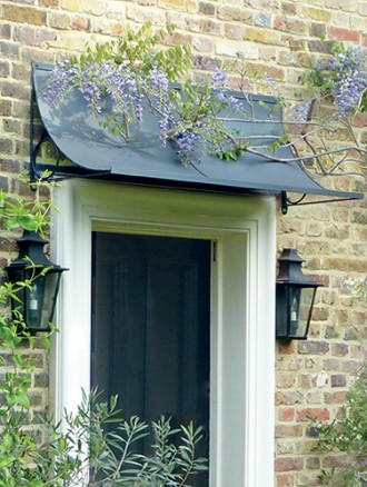 Door canopies have been decorating and enhancing homes for centuries and in recent times there has been something of a revival in the external decoration ... & Door canopy u2013 an attractive feature for your home - Garden Requisites