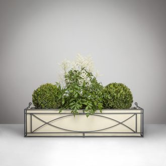 Crescent Window Box with Planter