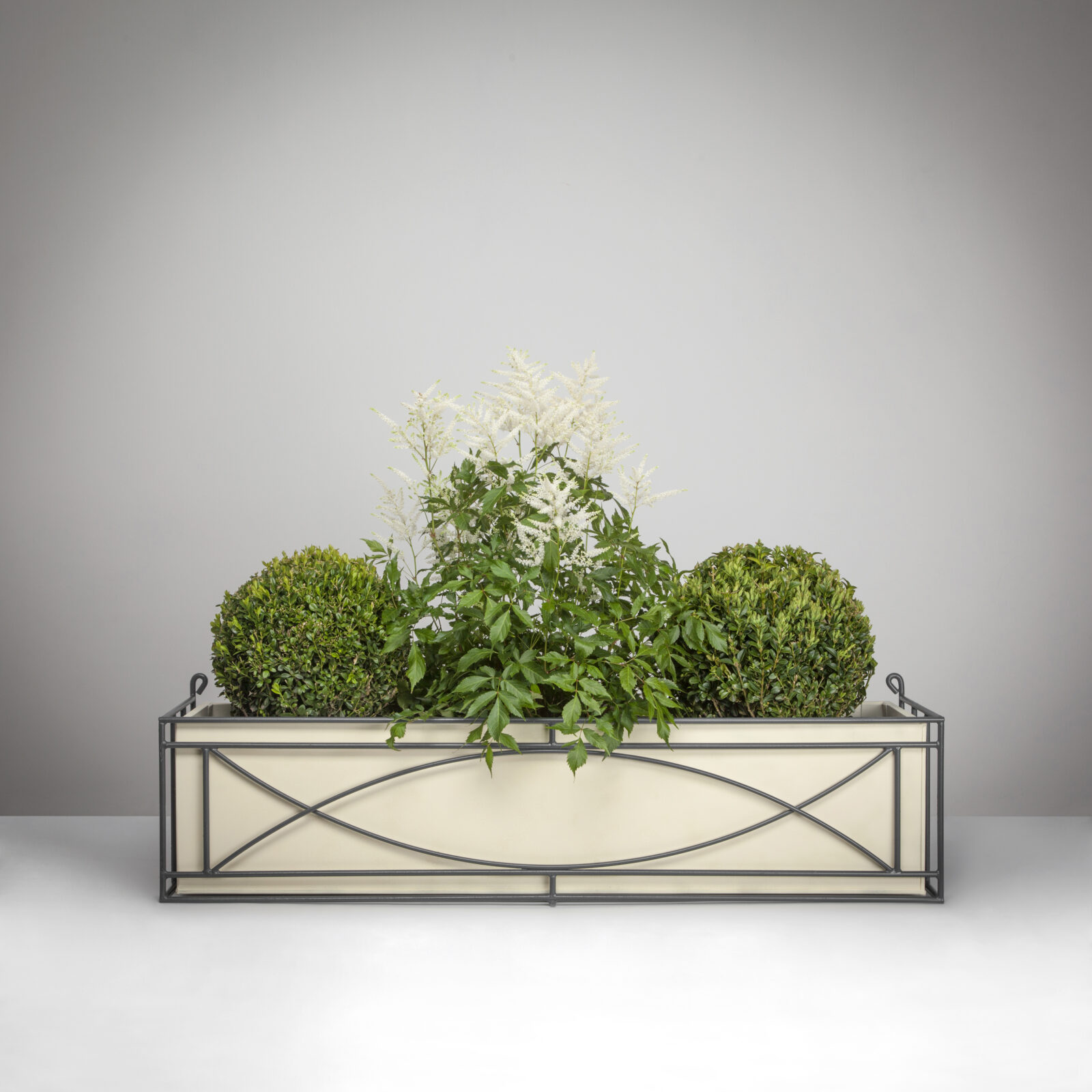 5 Crescent Window Box with Planter