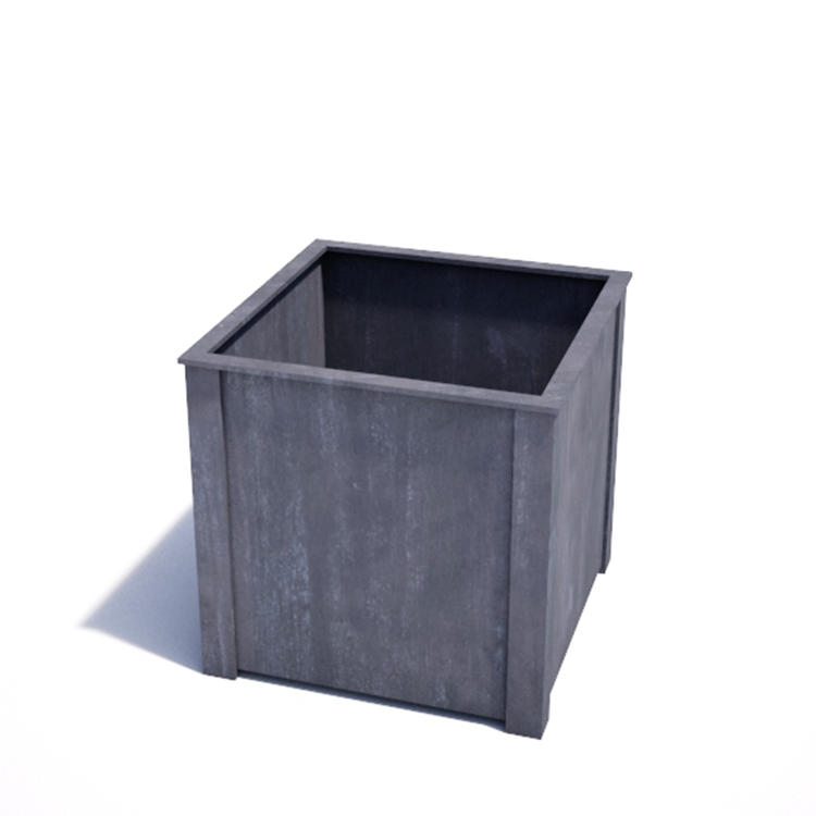Strong Galvanized Planter