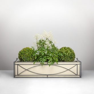 Crescent window box