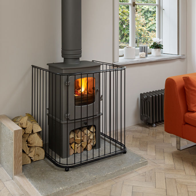Fireguards - Fire Guards for stoves - Traditional Fireguards