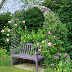 Garden Arch with Roses