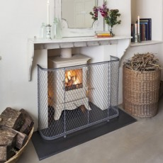 Fire-guard for stoves