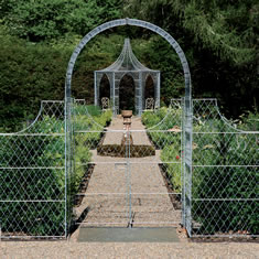 Metal Trellis Gates