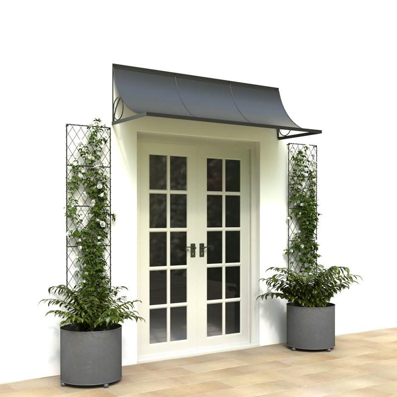 metal door canopy 1