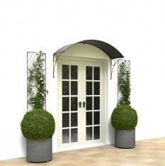 Patio door canopy