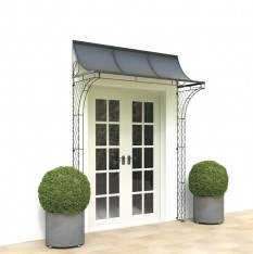 Porch over French doors