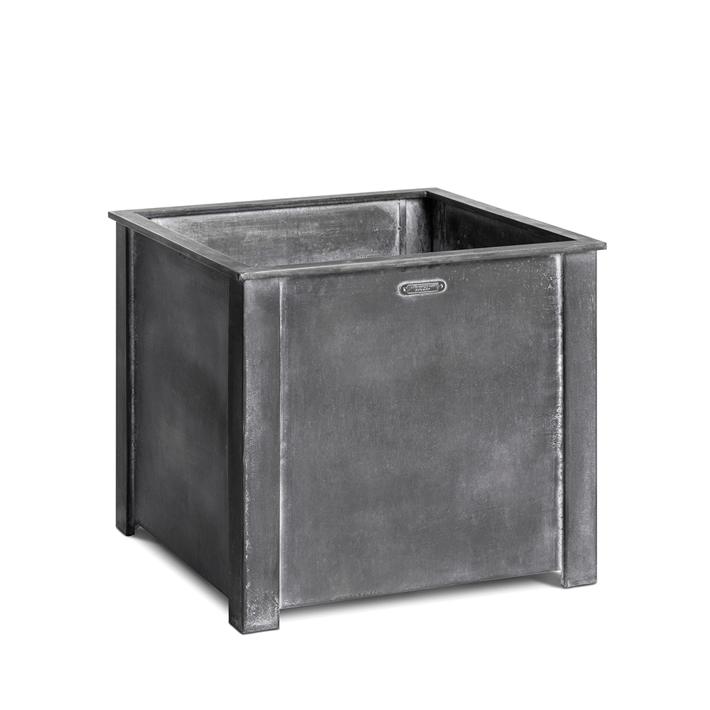 Square steel planter