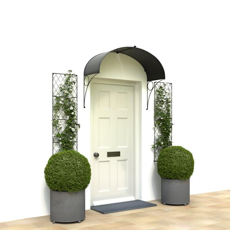 Victorian door canopy
