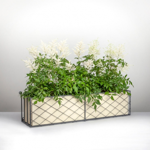 Wirework window box