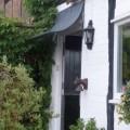 Door canopy over stable doors