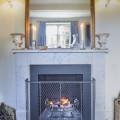 Fireguard and fireplace