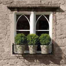 iron window box