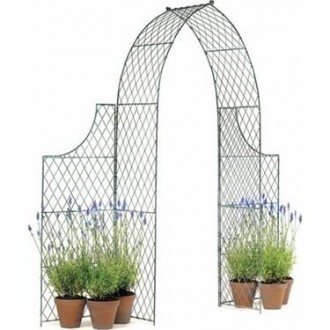 Money off wirework arches