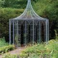 Octagonal wirework pavilion
