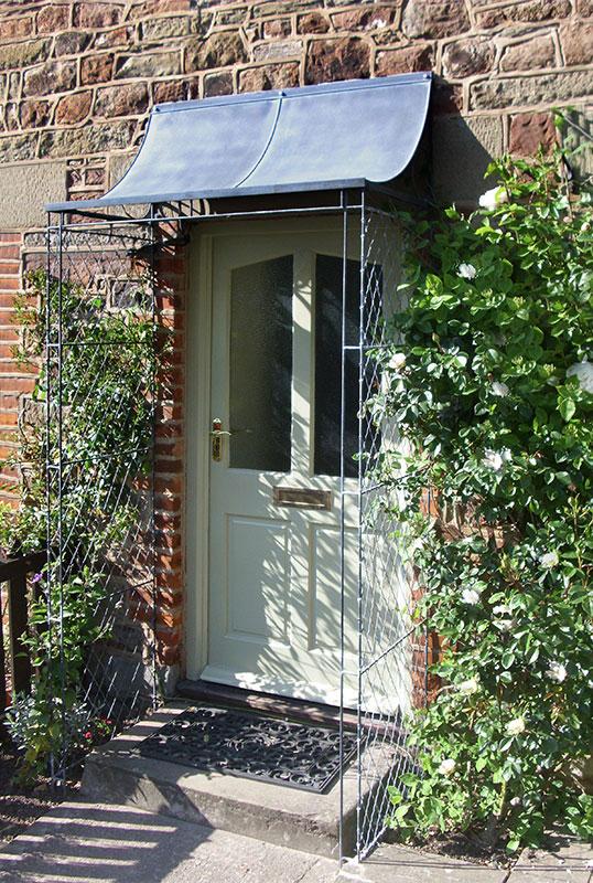 Over Door Porches Door Canopy Designs Metal Planters