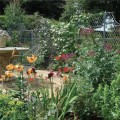Series of garden trellis panels