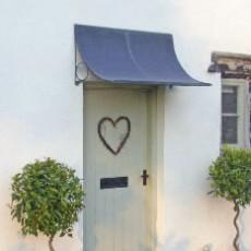 testimonials scoop door canopy aged zinc