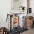 Traditional nursery fireguard and stove