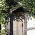 Door canopy cottage