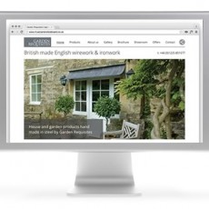 Garden Requisites website launch