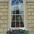 Window box with planter