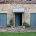 Zinc galvanized porch